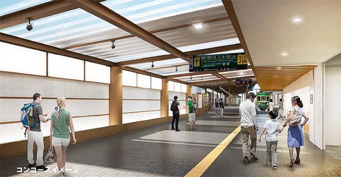 鎌倉駅コンコースのイメージ