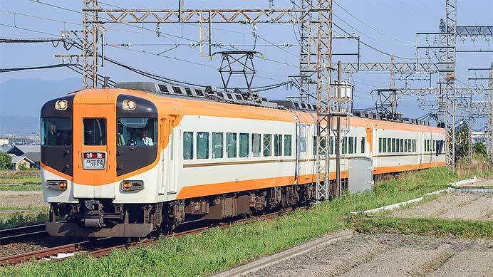 近鉄16010系+16000系の混成4両編成運転