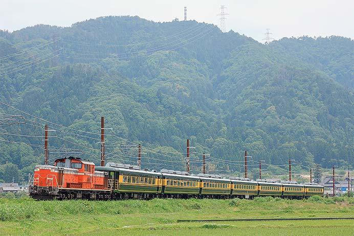 DD51+「サロンカーなにわ」が敦賀へ