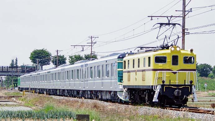 東京メトロ13000系第33編成が甲種輸送される