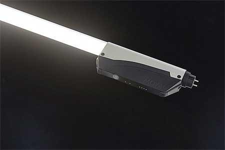 LED蛍光灯一体形の防犯カメラ「IoTube」を大井町線に試験導入