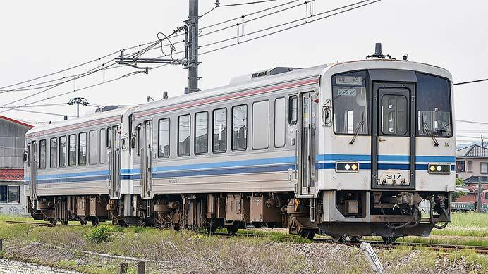 福塩線・芸備線で運用されていた浜田色のキハ120形が広島へ