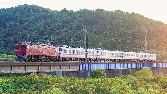 もと八戸運輸区所属のキハ40系が土崎へ