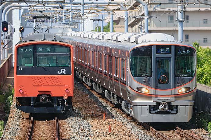 大阪環状線・桜島線からオレンジ色の201系が引退