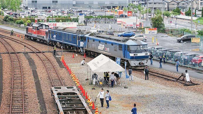 JR貨物稲沢駅が公開される