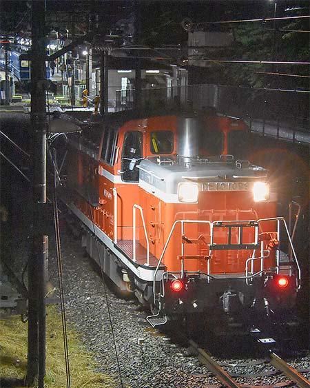 DE10 1099+14系が新藤原に入線