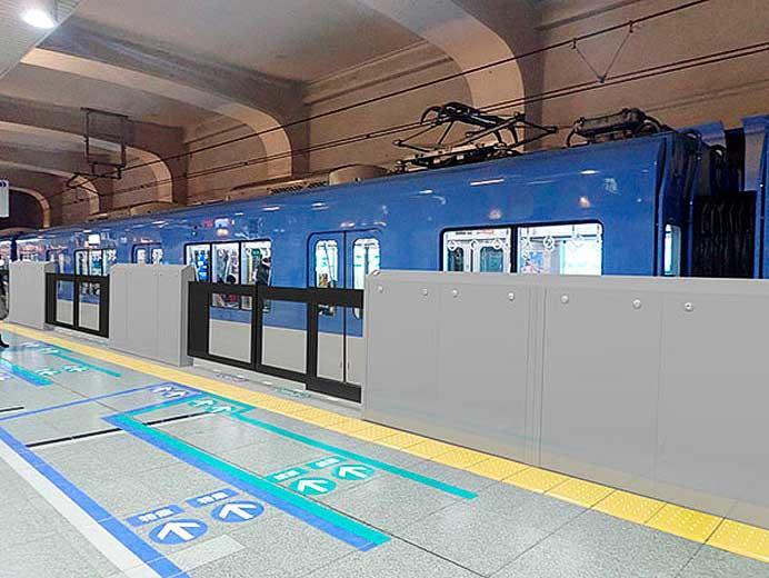 阪神,神戸三宮駅に可動式ホーム柵を設置へ
