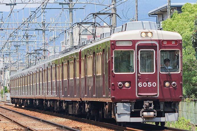 阪急6050編成が正雀へ