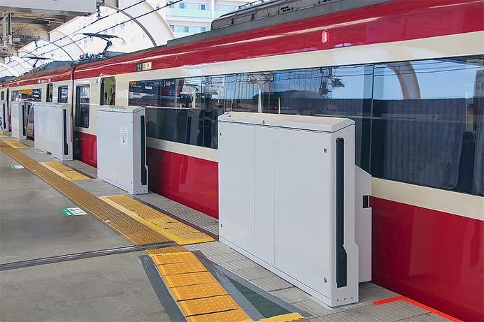 京急蒲田駅3番線にホームドアが設置される