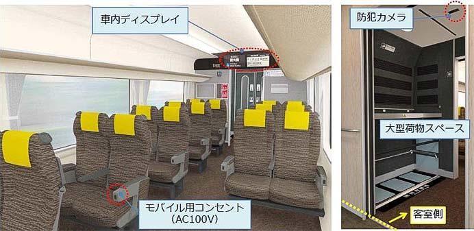 "JR西日本,特急""はるか""に271系(車内)"