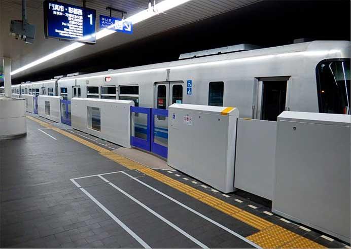 大阪モノレール,門真市駅で可動式ホーム柵の設置に着手