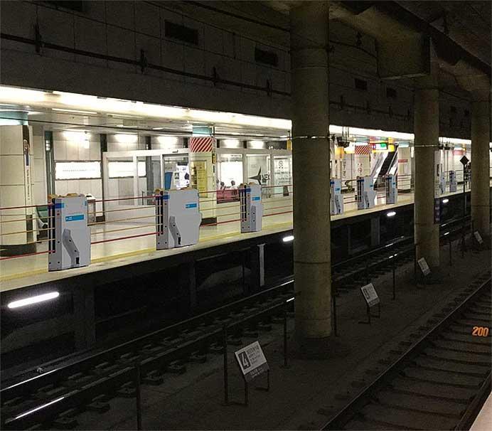 成田線成田空港駅・空港第2ビル駅に昇降式ホーム柵を導入へ
