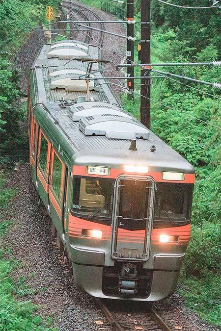 中央本線で313系8000番台による団臨運転