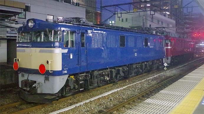 EF60 19が秋田総合車両センターへ