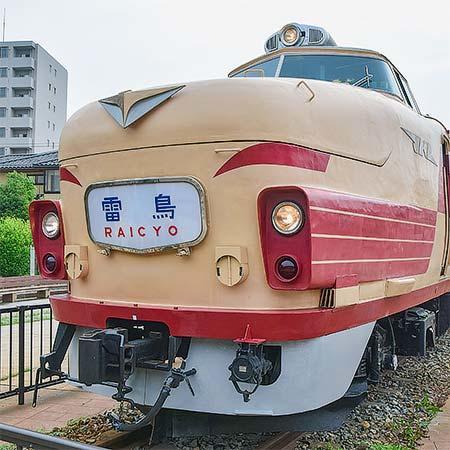 クハ489-501のスカートが昭和50年ごろのクハ489-503仕様に