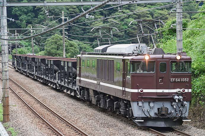 小野上駅常備のホキ800形7両が長野総合車両センターへ