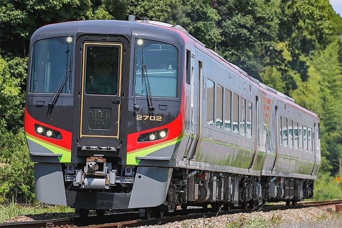 徳島地区で2700系の試運転が実施される