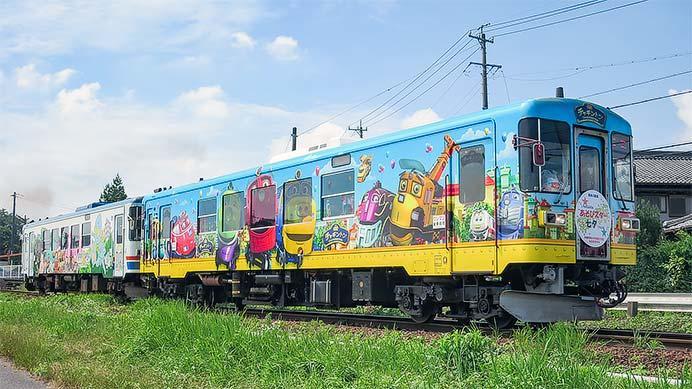 長良川鉄道で『七夕トレイン』運転