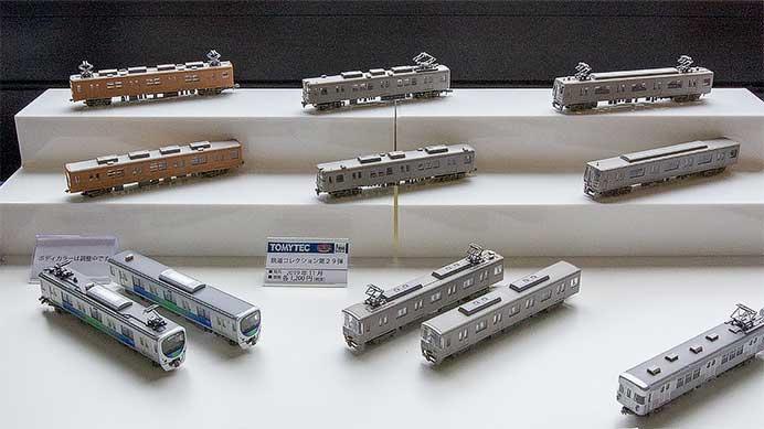 トミーテック,「鉄道コレクション 第29弾」の試作品を公開