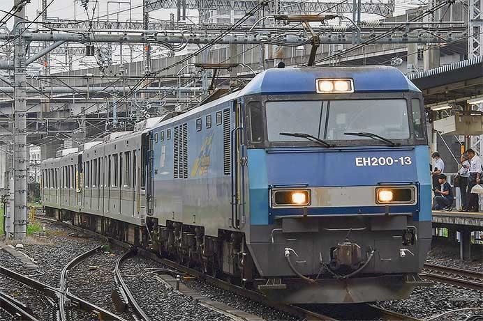 東京メトロ03系4両が甲種輸送される