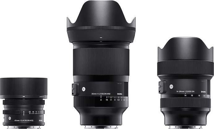 シグマ,新開発のミラーレス専用高性能レンズシリーズを発表