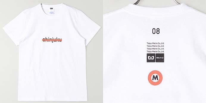 『「東京メトロ×smarby」Tシャツ』発売