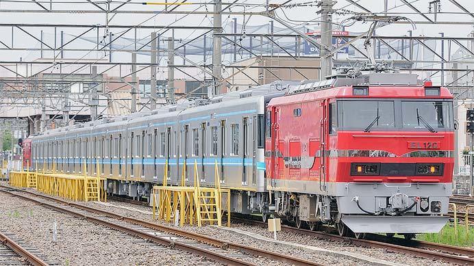 名古屋市交通局N3000系が甲種輸送される