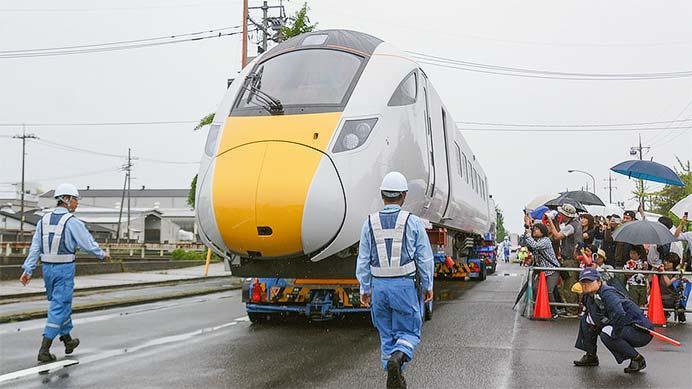 下松市で『道路を走る高速鉄道車両見学プロジェクト』開催