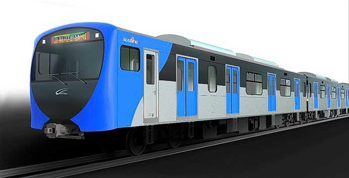 住友商事・総合車両製作所,フィリピン 南北通勤鉄道向け鉄道車両104両を受注