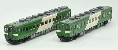 トレインボックスから,Nゲージ鉄道模型「キハ58系ディーゼルカー(高山色)2両セット」発売