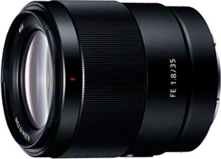 ソニー,「FE 35mm F1.8」を8月に発売