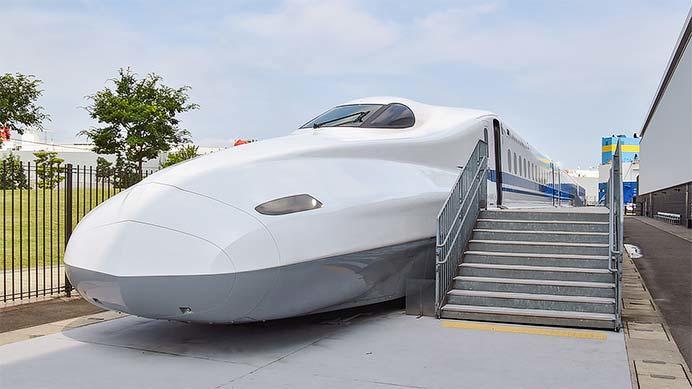 リニア・鉄道館でN700系先行試作車の屋外展示開始