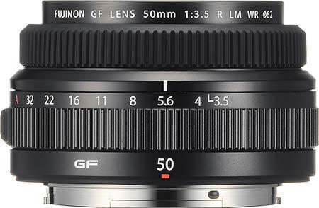 富士フイルム,「GFXシリーズ」用交換レンズ「フジノンレンズ GF50mmF3.5 R LM WR」を9月に発売