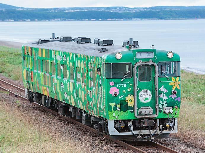 釧網本線で『オホーツク花物語号』運転