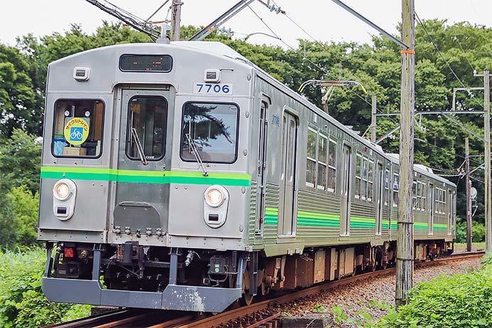 養老鉄道7700系TQ06編成が営業運転を開始