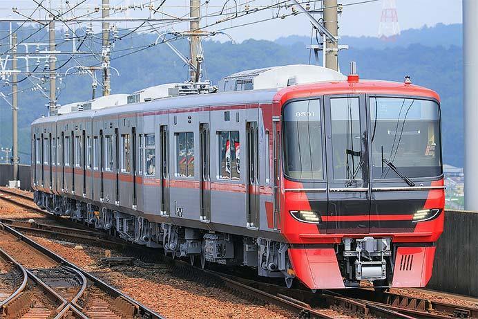 名鉄9500系が本線試運転を実施