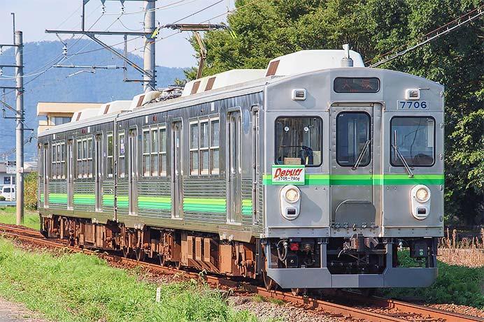養老鉄道で7700系TQ06編成デビュー系統板の掲出を再開