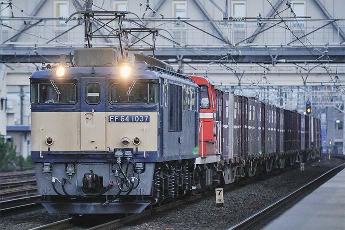 衣浦臨海鉄道KE65 5が甲種輸送される