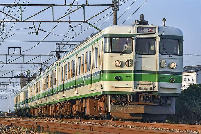 信越本線 快速3374Mが増結して運転される
