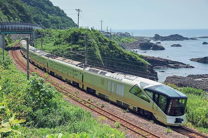 「四季島」夏の2泊3日コース運転