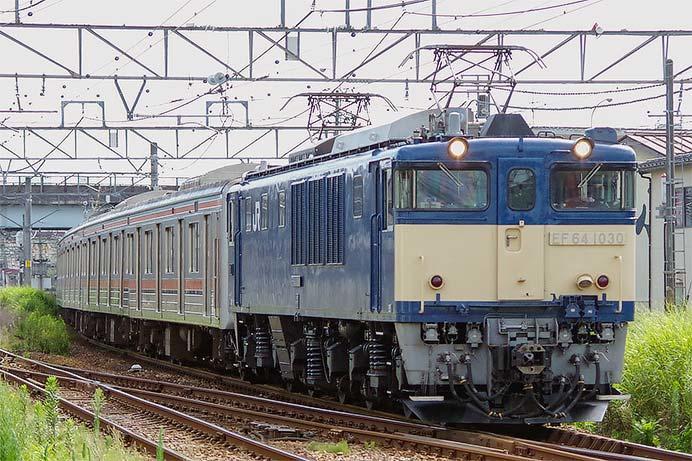 205系M62編成が新津へ