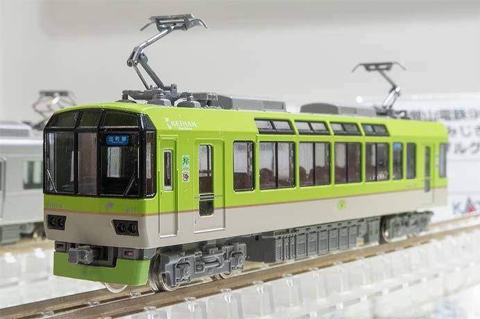 叡山電鉄900系<青もみじきらら>(メープルグリーン)