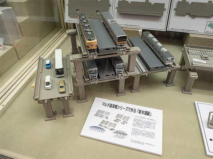 トミーテック,「マルチ高架橋対向式ホーム複々線高架化セット」など4アイテムを発売