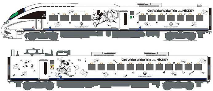 JR九州,8月22日から「JR九州 Waku Waku Trip 885系(ミッキーマウスデザイン&ミニーマウスデザイン)」を運転