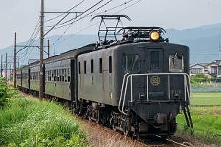 """大井川鐵道,""""ELかわね路号""""運転"""