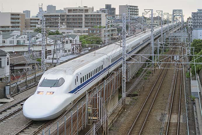 東海道新幹線の700系定期運用が実質1往復に