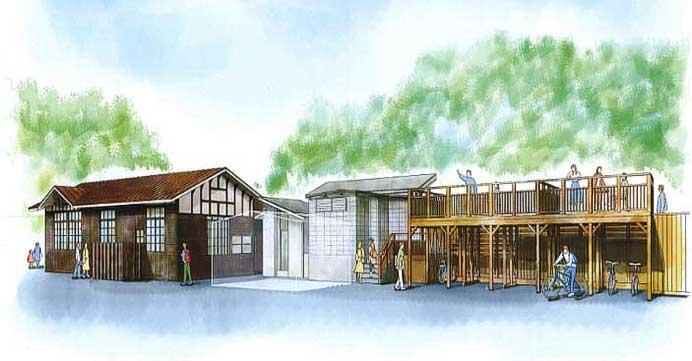 南海,九度山駅に「おにぎりスタンド」・高野下駅に「駅舎ホテル」を整備