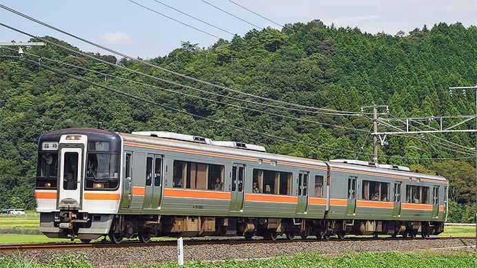 キハ75形による団臨が東海道本線・新垂井線・美濃赤坂線を走行