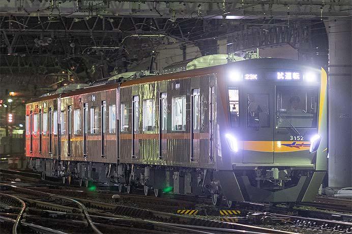 京成3100形が成田スカイアクセス線で試運転を実施