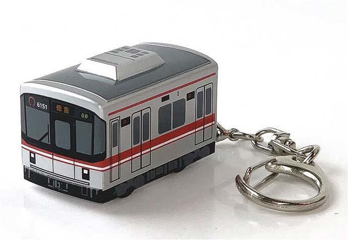 名古屋市交,「走る!電車型キーホルダー(桜通線開業30周年記念グッズ)」発売